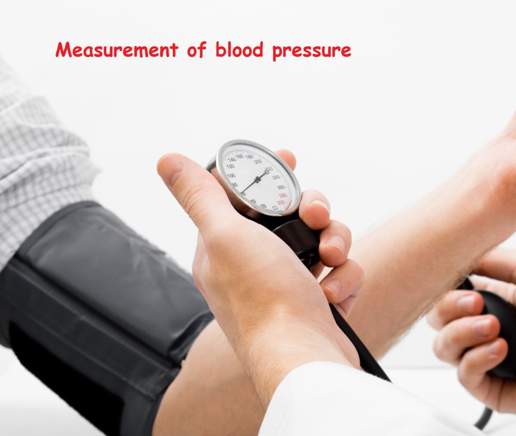 how to measure high blood pressure