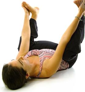 ananda balasanahappy baby pose  karuna yogabest yoga