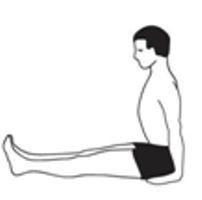 dandasanastaff pose  karuna yogabest yoga teacher